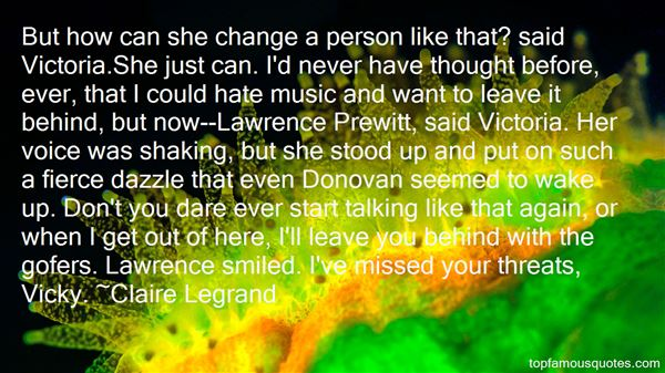 Quotes About Donovan