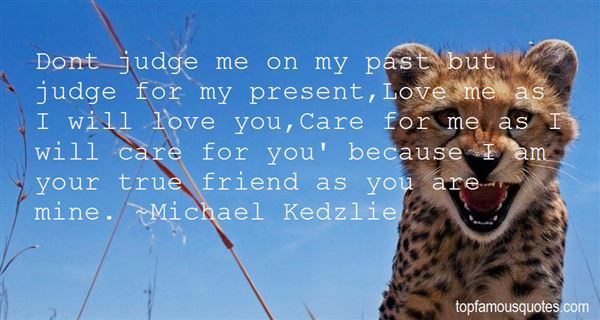Quotes About Dont Judge Me