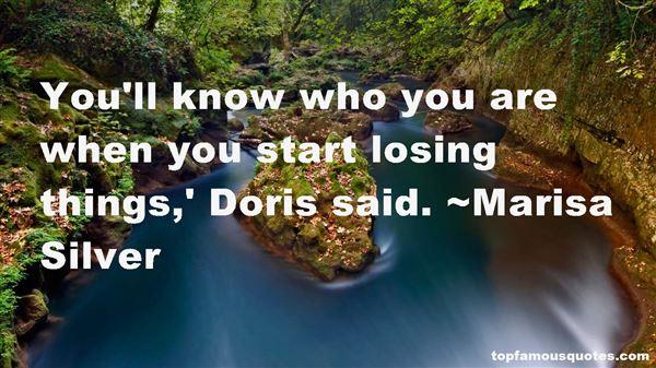 Quotes About Doris
