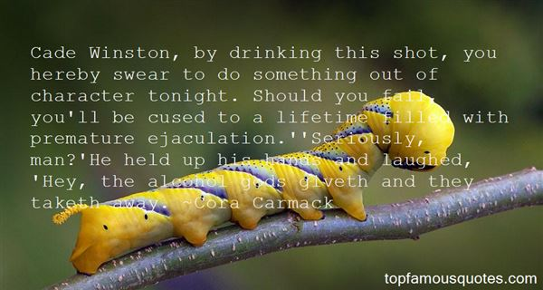 Quotes About Drinking Tonight
