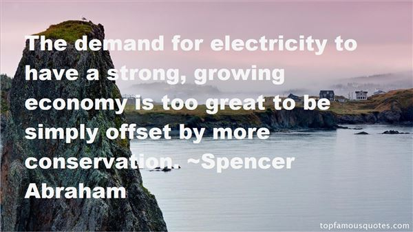 Quotes About Electricity Conservation