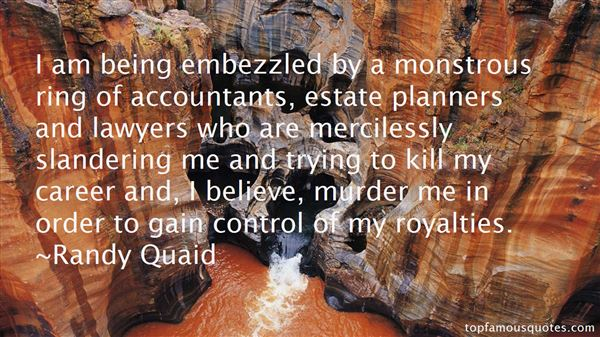 Quotes About Embezzled