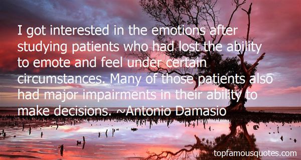 Quotes About Emotions And Decisions