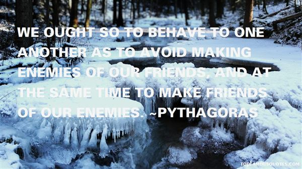 Quotes About Enemies And Friends