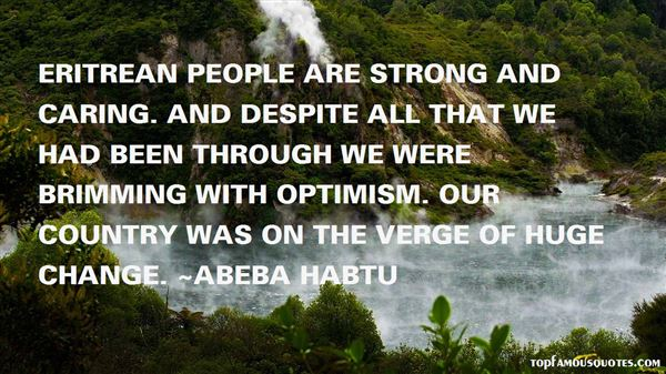 Quotes About Eritrea