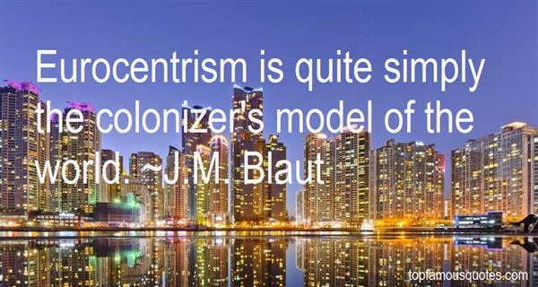 Quotes About Eurocentrism