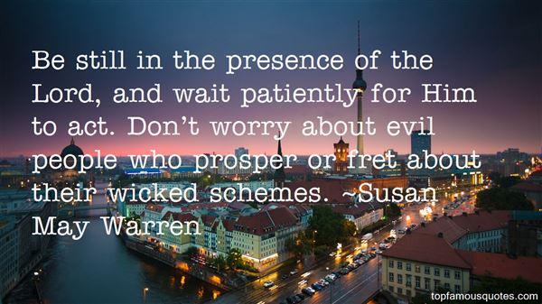 Quotes About Evil Schemes