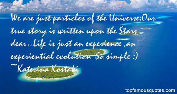 Quotes About Experiential