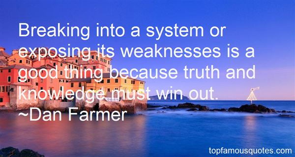 Quotes About Exposing Weakness