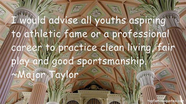 Quotes About Fair Sportsmanship
