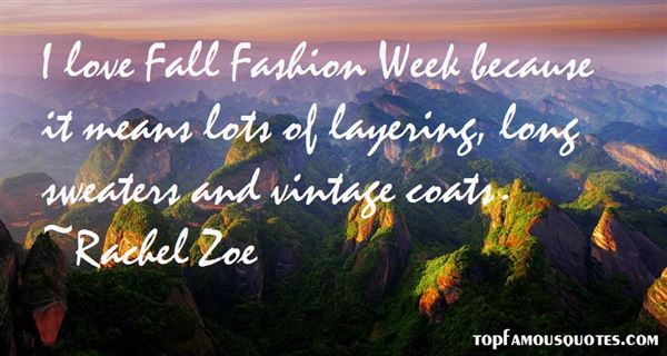 Quotes About Fall Fashion