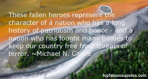 Quotes About Fallen Heroes