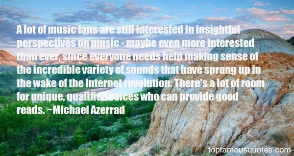 Quotes About Fans In Music