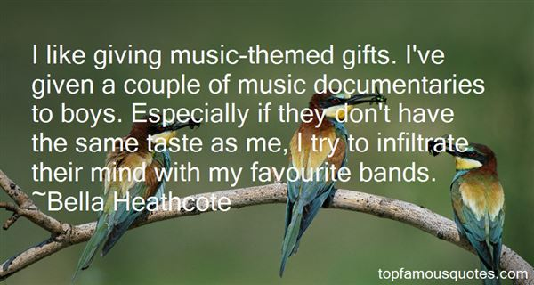 Quotes About Favourite Bands