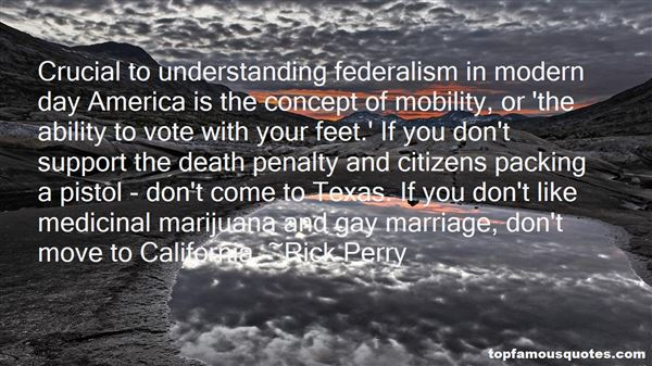 Quotes About Federalism