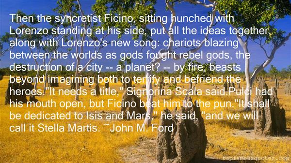 Quotes About Ficino