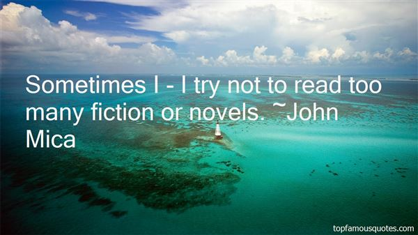 Quotes About Fiction Novels