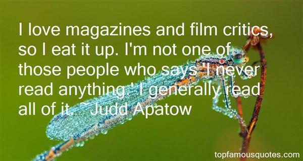 Quotes About Film Critics