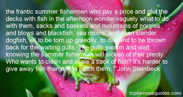 Quotes About Fishermen And The Sea
