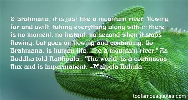 Quotes About Flowing Like A River