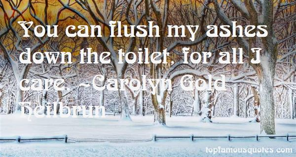 Quotes About Flush