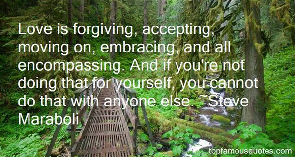 Quotes About Forgiving Yourself
