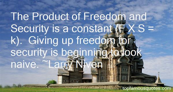 Quotes About Freedom And Security