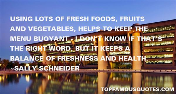 Quotes About Fresh Fruit