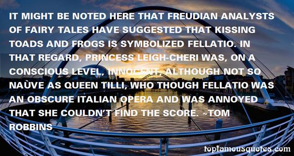 Quotes About Freudian