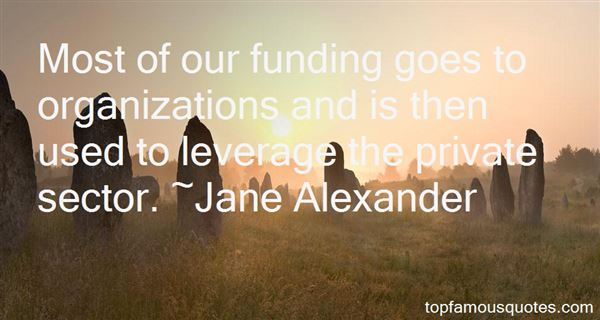 Quotes About Funding