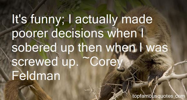 Quotes About Funny Sober
