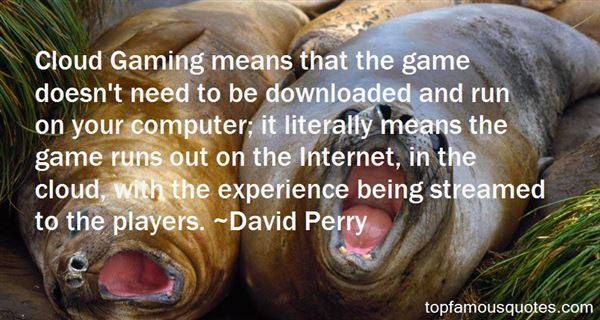Quotes About Game Players