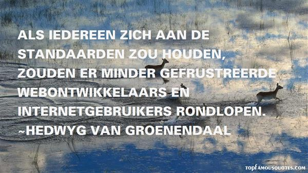 Quotes About Gebruiker
