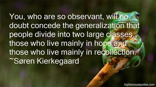 Quotes About Generalization