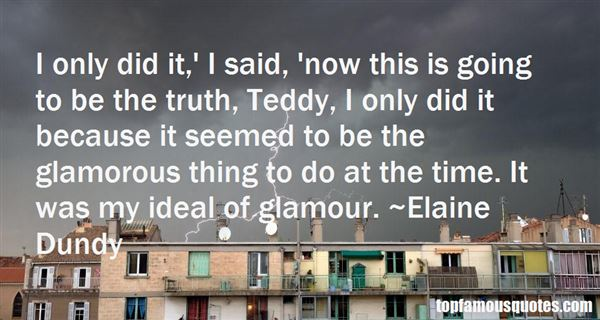 Quotes About Glamor