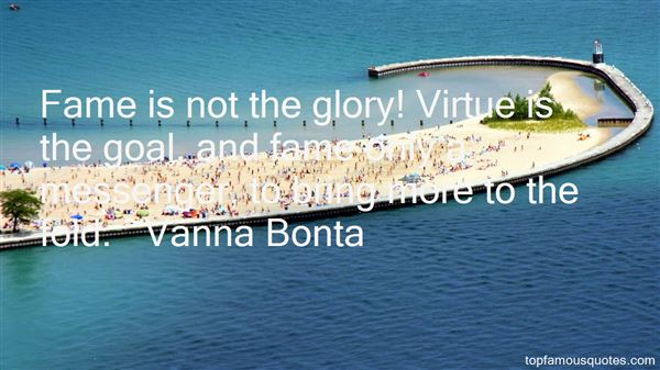 Quotes About Glory And Fame