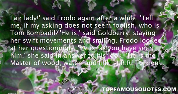 Quotes About Goldberry
