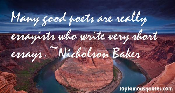 Quotes About Good Essays