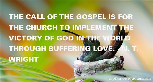 Quotes About Gospel