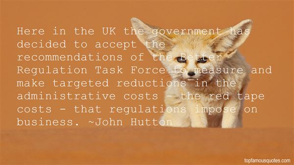 Quotes About Government Regulations