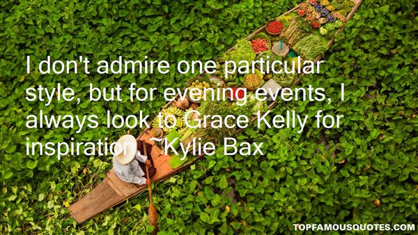 Quotes About Grace Kelly