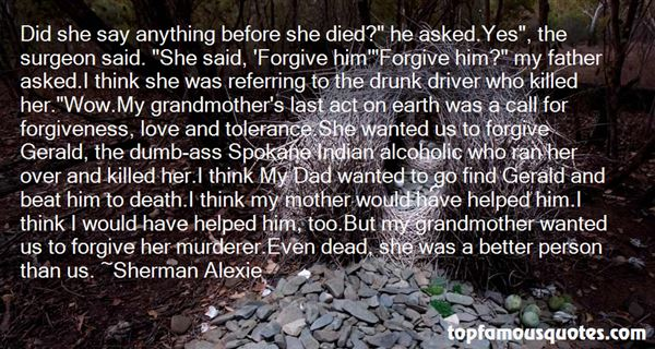 Quotes About Grandmother Death