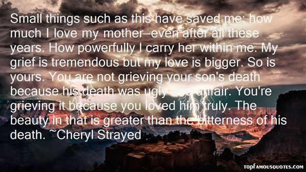 Quotes About Grief And Love