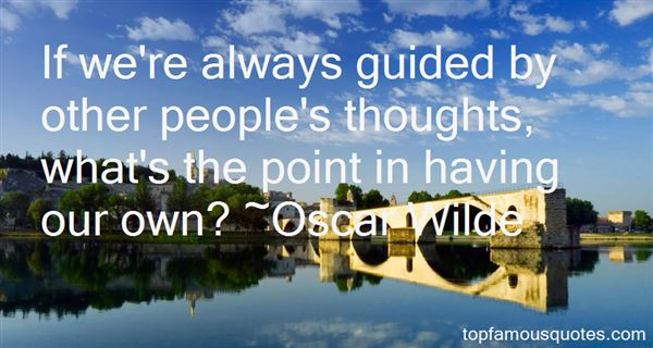 Quotes About Guided