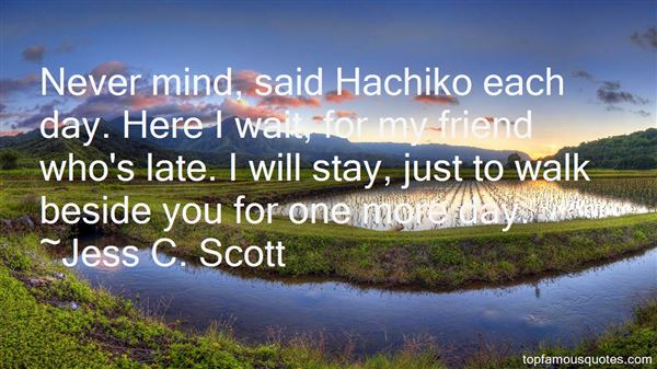 Quotes About Hachi