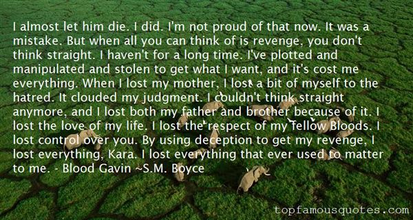 Quotes About Hatred And Revenge