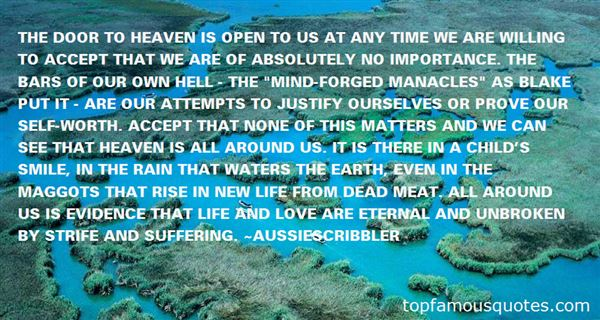 Quotes About Heaven On Earth