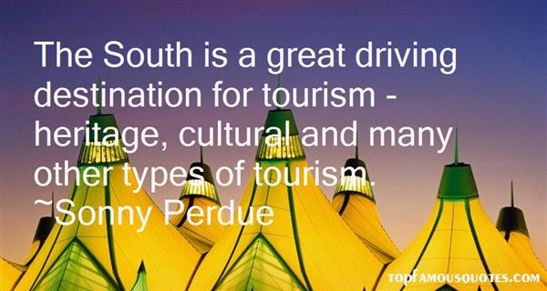 Quotes About Heritage Tourism