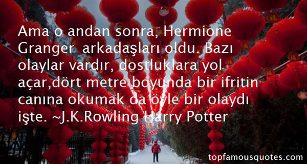 Quotes About Hermione Granger