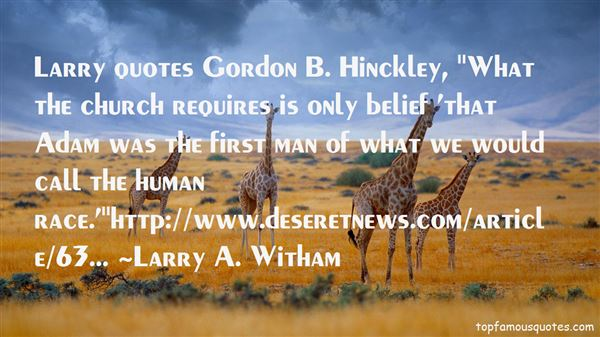 Quotes About Hinckley